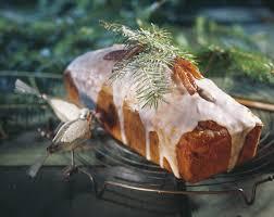 dattel nuss cake mit mandarinenglasur