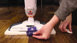 Bissell Hardwood Floor Cleaners by Features Powerfresh Deluxe Steam Mop Youtube