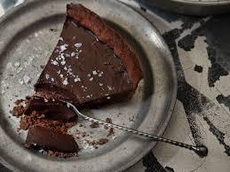 feiner schokoladenkuchen mit mürbeteig