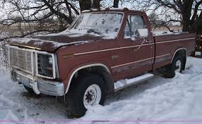 100 1982 Ford Truck F250 Pickup Truck Item 5526 SOLD February 9