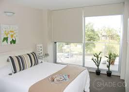 roller blinds minimalistisch schlafzimmer sydney