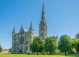 Salisbury Cathedral Wiltshire England