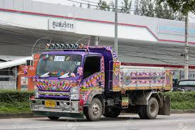 100 Dump Trucks Videos Chiangmai Thailand August 20 2018 Private Isuzu Truck