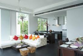 A Room Can Be Divided Using Furniture Groupings To Suggest Separateness