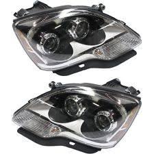 headlights for 2010 gmc acadia ebay