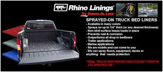 sprayed truck bed liners rhino linings in anchorage ak total
