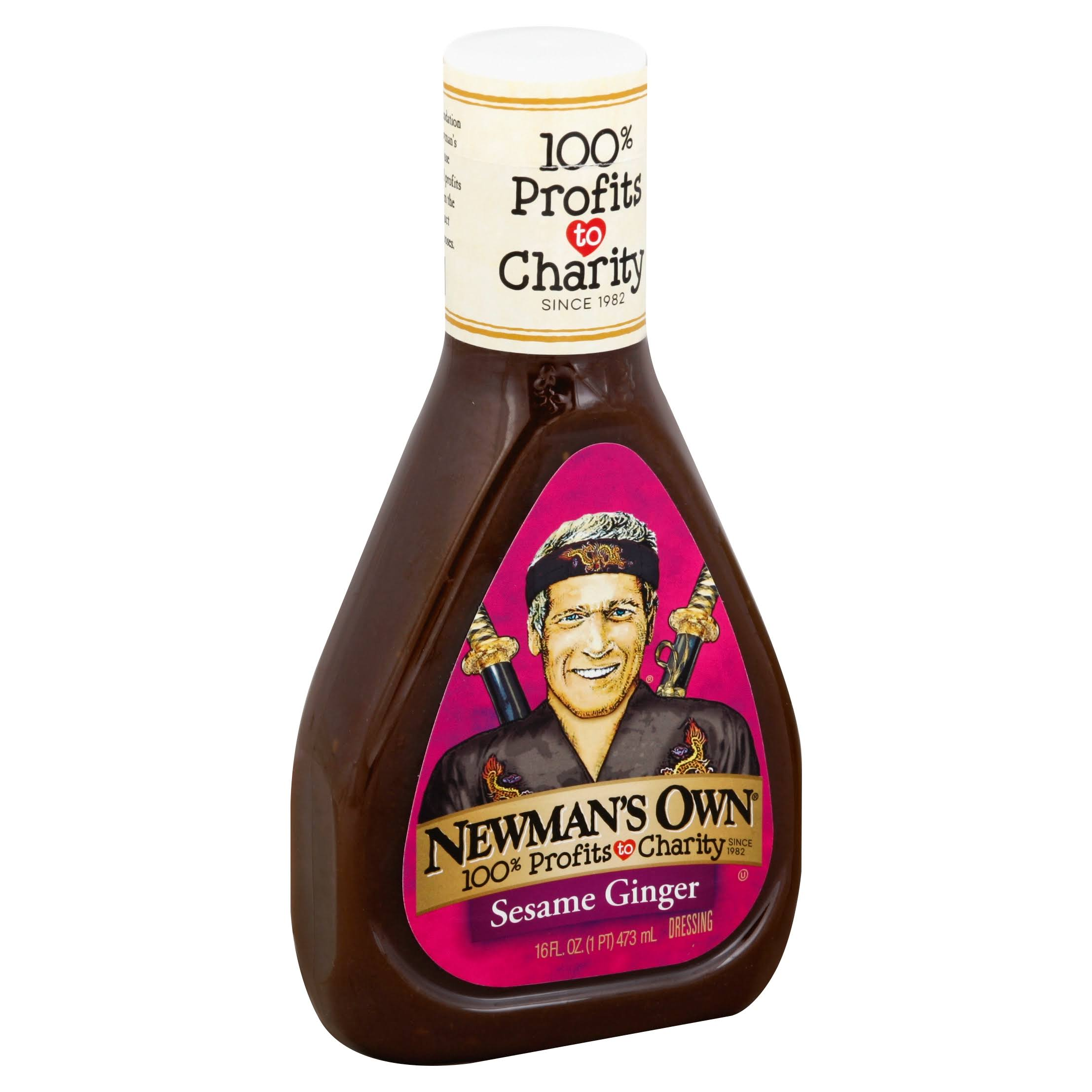 Newman's Own Sesame Ginger Dressing - 16oz