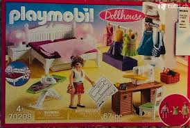 playmobil dollhouse 70208 schlafzimmer mit nähecke in