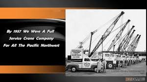 100 Northwest Trucking Cranes NessCampbell Crane Rigging Where We Started YouTube