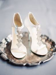 wedding shoes with silver hearts photo by Taylor Lord