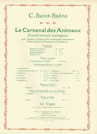 aquarium from le carnaval des animaux sheet by camille