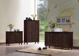 Baxton Shoe Cabinet Canada by Entryway Cabinet With Doors Simple Entryway Furniture Design For