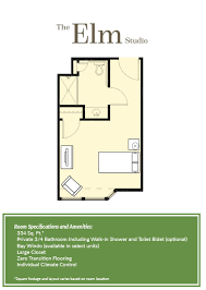 C Floor Plans by Assisted Living Facility Floor Plans In Arizona