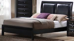 King Platform Bed With Fabric Headboard by Sophisticated Platform Bed With Headboard Leather U2013 Home