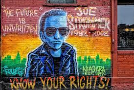 joe strummer mural lower east side nyc photograph by robert ullmann