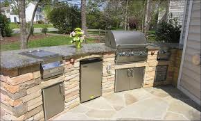 Elegant KitchenL Shaped Outdoor Kitchen Designs U Curved Bbq Island How