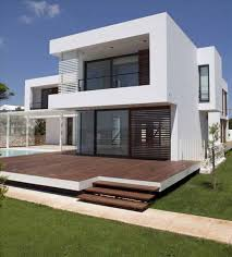 100 Glass Modern Houses White Decorating House Wooden Balcony Plans