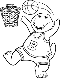 Barney Coloring Pages To Download And Print For Free Printable