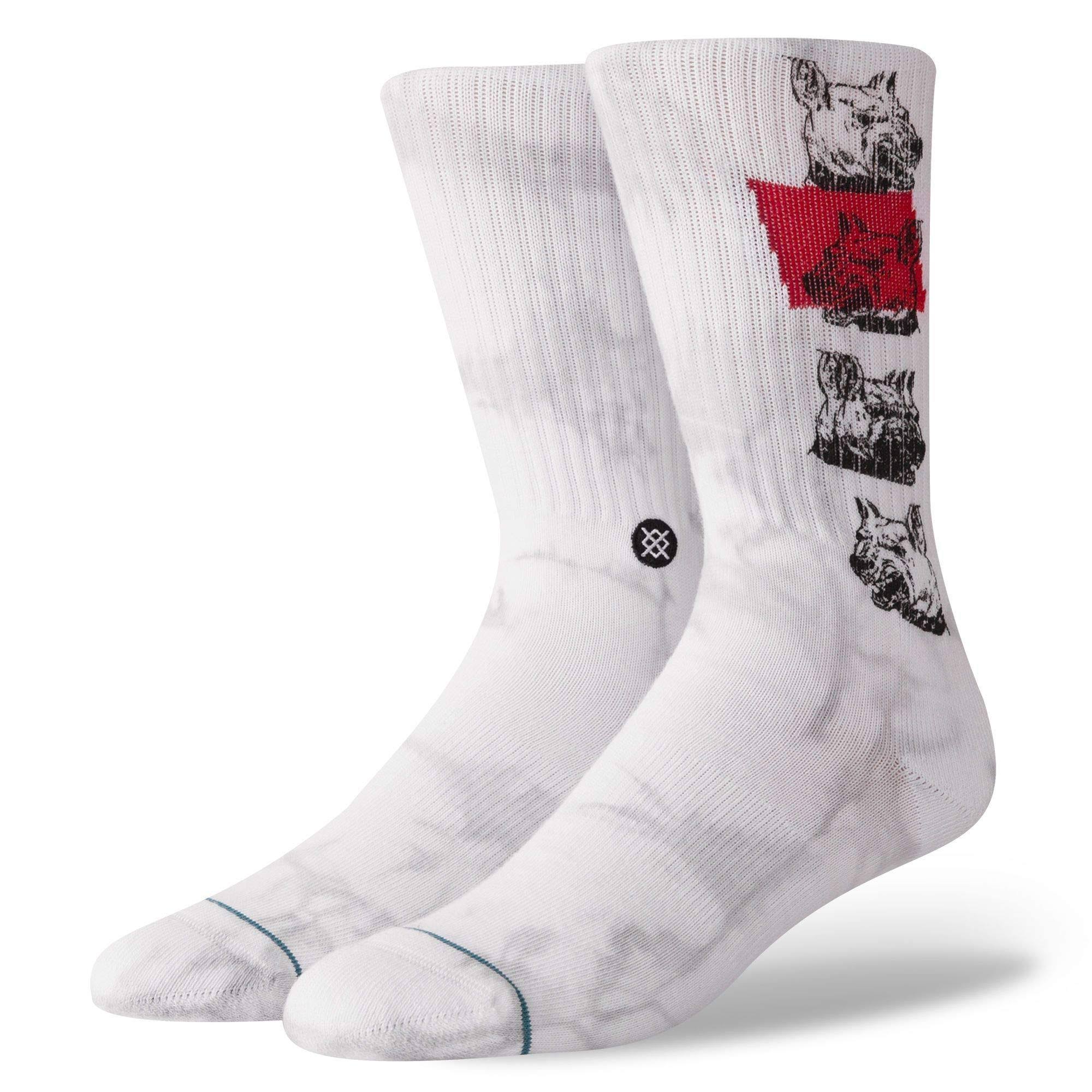 Stance Respect The Elders Socks - White
