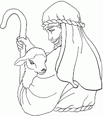 Awesome Coloring Jesus The Good Shepherd Pages In Az