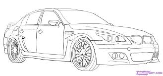 Drawing Cars Bmw
