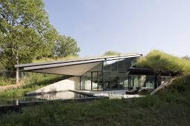 104 Eco Home Studio Underground House Split Into Living And Sleeping Halfs