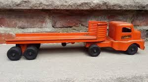 Original Vintage Structo Toy Flatbed Truck | Structo | Pinterest Amazoncom Peterbilt Truck With Flatbed Trailer And 2 Farm Tractors 116th Big Farm John Deere Ram 3500 Dually Skidloader 5th Red Race Car Hot Wheels Crashin Big Rig Blue Shop Express 1100 Germany 1957 Hmkt Antique Cast Iron Toy Flatbed Truck 116 Model 367 Farmall Wood Toy Plans Semi Youtube Ertl New Holland T7030 Tractor Lego City 60017 Walmartcom Antique Vintage Dinky Toys Supertoys Foden Chains Intertional Durastar 4400 Flat Bed Tow