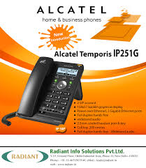 ALCATEL Home And Business IP Phone - Alcatel Temporis IP251G ...