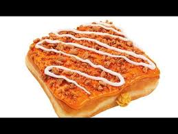 Dunkin Donuts Pumpkin Donut Recipe by Carbs Dunkin U0027 Donuts Pumpkin Cheesecake Square Youtube