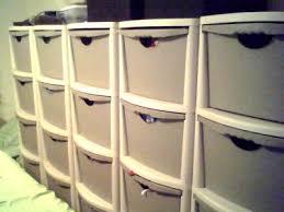 Sterilite 4 Drawer Cabinet Platinum by Four Drawer Utility Unit Lt Platinum Walmart Com