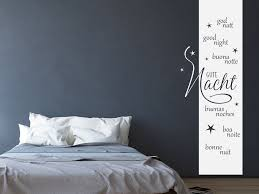 wandtattoo banner gute nacht