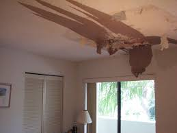 Skip Trowel Over Popcorn Ceiling by Cape Canaveral Fl Water Damaged Popcorn Ceiling Tropical Storm