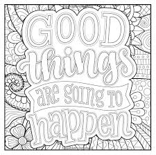 Coloring Pages Words Gallery Of Art Relaxation