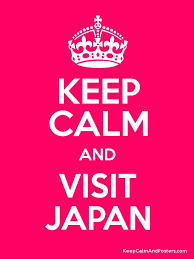 KEEP CALM AND VISIT JAPAN Poster