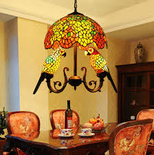 Antique Tiffany Lamps Ebay by Makenier Vintage Tiffany Style Stained Glass 16 Inch Wisteria