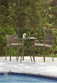 Mainstays Patio Furniture Manufacturer by Amazon Com Mainstays Sand Dune 3 Piece Outdoor Bistro Set Seats