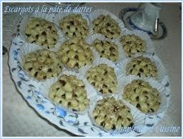 comment faire de la pate de datte escargots à la pâte de dattes gâteaux algériens simplement cuisine