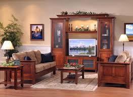 Amish Furniture Living Room Solid Wood Arlington Modular Home Entertainment Center
