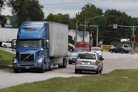 100 Commercial Truck Routes Local Officials Working To Improve Traffic Safety On Paris Gravel