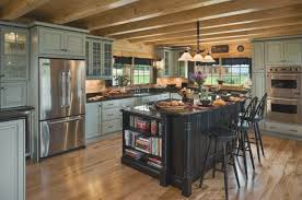 best log home kitchen design contemporary decorating design