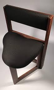 The Original Guitar Chair 19 Inch Seat Height Walnut Hardwood
