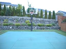 The Backyard Retaining Wall Is A Nice Backdrop To Take Hoop Shots ... Retaing Wall Designs Minneapolis Hardscaping Backyard Landscaping Gardening With Retainer Walls Whats New At Blue Tree Retaing Wall Ideas Photo 4 Design Your Home Pittsburgh Contractor Complete Overhaul In East Olympia Ajb Download Ideas Garden Med Art Home Posters How To Build A Cinder Block With Rebar Express And Modular Rhapes Sloping Newest
