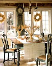Shabby Chic Dining Room Hutch by Vintage And Shabby Chic Thanksgiving Ideas With Flower Decoration