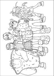 How To Train Your Dragon Printable Coloring Pages