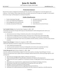 Cover Letter 11 Amazing Management Resume Examples