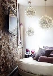 interior skona hem living room gray sofa classic paintings small