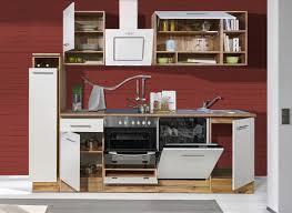 respekta economy küchenblock 250 cm wildeiche nachbildung weiß