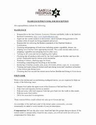 Kitchen Hand Resume Sample New Cover Letter Refrence Example Of