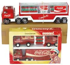 Coca-Cola Buddy L Trucks & Trailers, 1979 Coca-Cola Set In Box ... Rare Vintage 1950s 50 Buddy L Cocacola Coke Delivery Truck Baby Piano And Vintage Buddy Dump Truck Cacola Pressed Steel Delivery Model By Cacola Trucks Trailers 1979 Set In Box Trucks For Sale Pictures Coca Cola Gmc 550 Cab Circa 1960 Coca Cola Wbox Mack Collectors Weekly Japan Complete Whats It Worth 43 Paper Plates Cups With Lids Images Toy