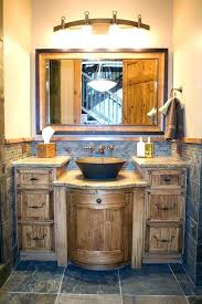 Chic Small Bathrooms With Country Decorating Ideas Also Rustic Bathroom And Style